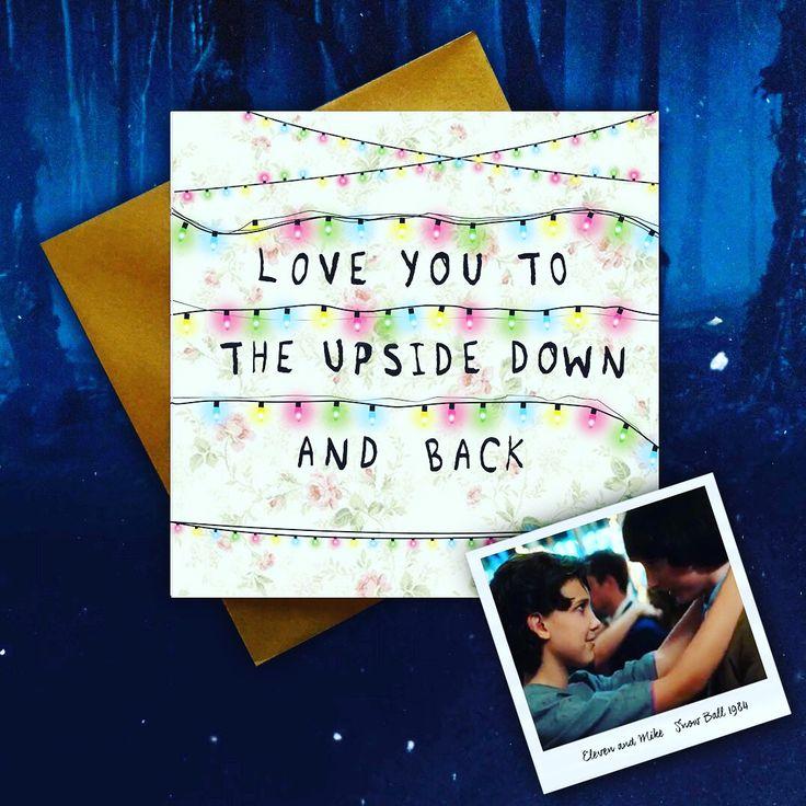Stranger Things Valentine's Card! 🙃💋