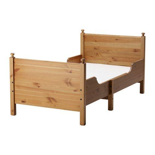 ЛЕКСВИК Раздвижная кровать IKEA Раздвигается –  длину можно регулировать по мере роста ребенка. Массив дерева, прочный натуральный материал.