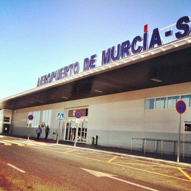 Aeropuerto de Murcia-San Javier (MJV) en San Javier, Murcia