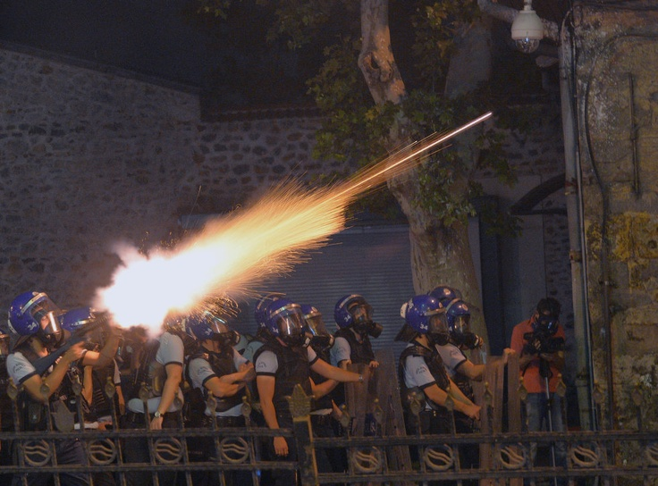 Scenes from the Turkey protests