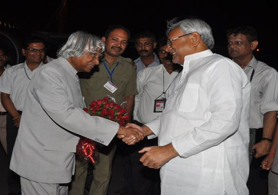 Former President A.P.J. Abdul Kalam Nitish Kumar