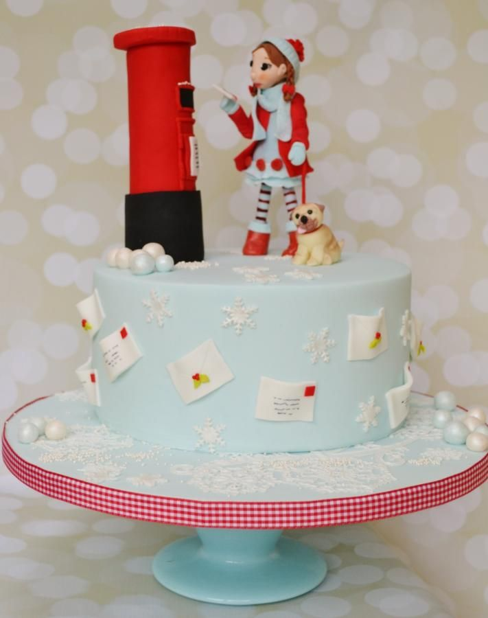 Letter to Father Christmas - Cake by Roo's Little Cake Parlour