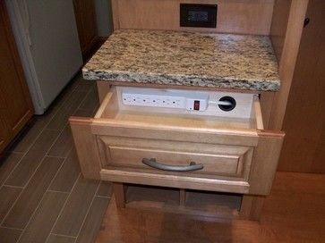 Great idea for bathroom or kitchen for appliances/hair dryer/straight iron you use all the time put do not want to sit out on the counter.