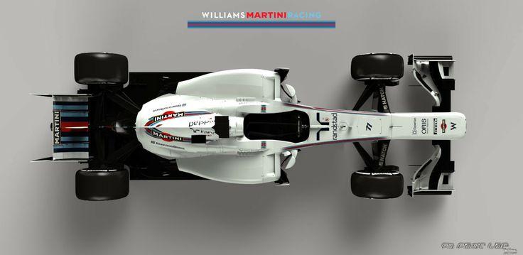 Williams FW36 Martini Racing