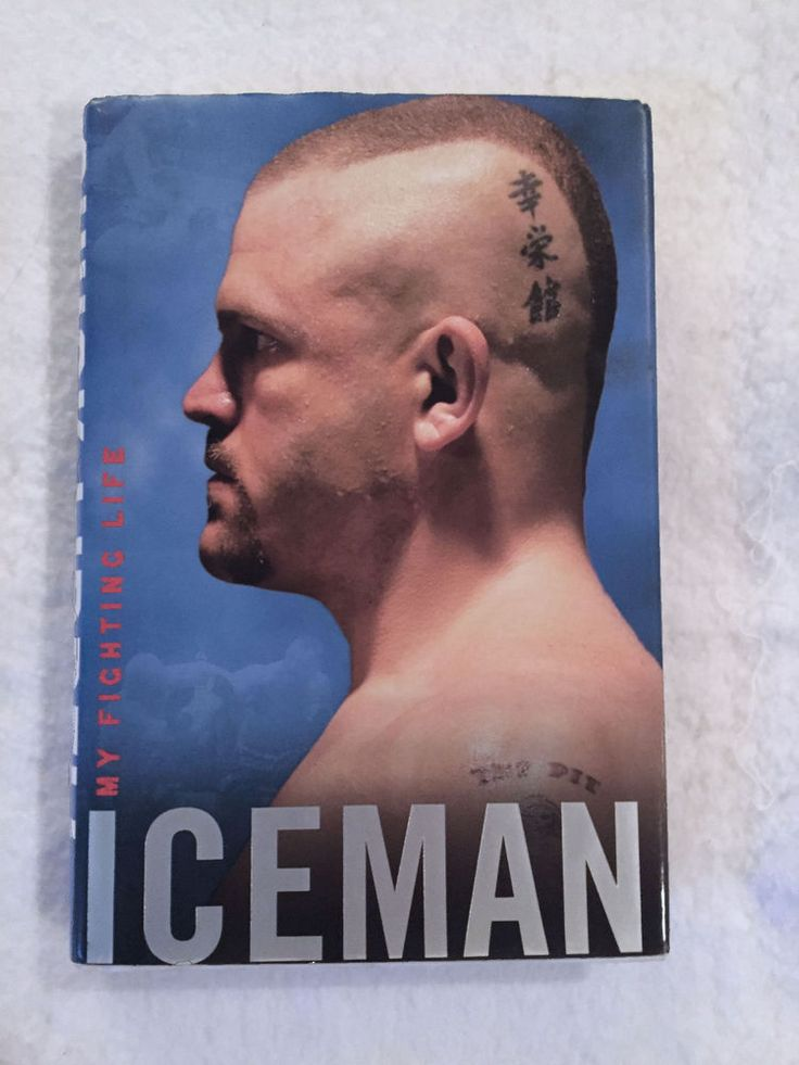 Signed Chuck Liddell: My Fighting Life Book (Hardcover, 2008) First Edition