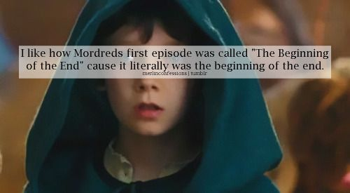 Yeah that's cool. But can we talk about how Mordred was like 8 when we first met him and by the end of season 5 he's like 20? :P