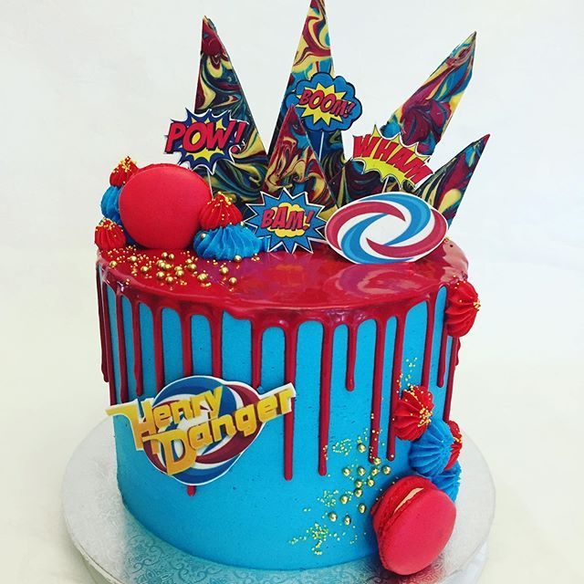 Henry DangerCaptain Personalized Cake Topper