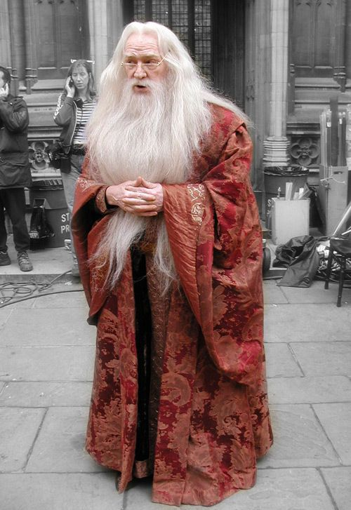 Richard Harris as Dumbledore - I feel like he's exactly how Dumbledore should be and I'm sad he didn't get to complete the film series