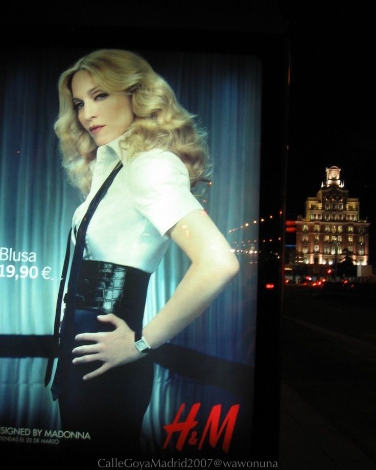 Calles de Madrid2007/ Calle de Goya Palada de Autobús. Madonna #madonna #H&M #paseodelacastellana #plazadecolon #themadridbible #callejero #streetphotomadrid #streetphotographer #photooftheday #vidamadrid #Madrid #madridtme #instamadrid #igersmadrid #ok_madrid #madridgrafias #madridmemola #madridmemata #loves_madrid #ig_madrid #igers #マドリード #マドリッド #españa #instaespaña #callesdemadrid #calles
