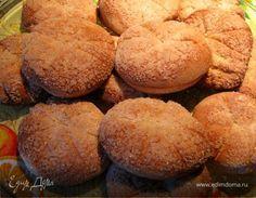 Сахарные сметанные коржики. Ингредиенты: сметана, сахар, конфитюр