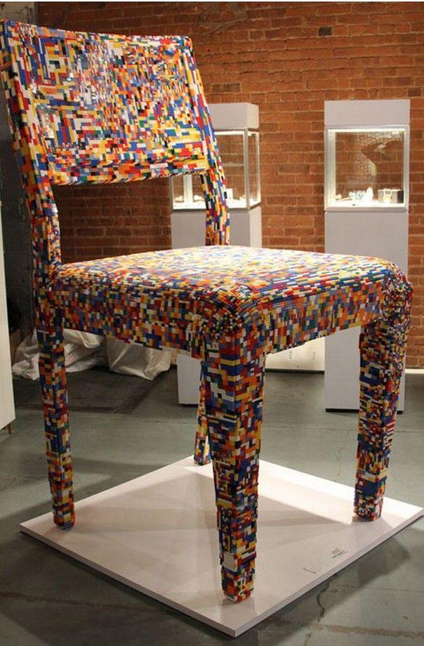 Лего мебель - стул