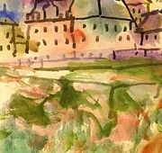"New artwork for sale! - "" Houses Near The Gravel Pit 1913 by Klee Paul "" - http://ift.tt/2CFeHlb"