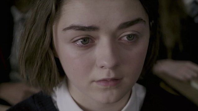 Maisie Williams stars in dark new trailer for 'The Falling'.