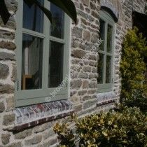Stone Cottage, Painted timber windows by www.brownsjoineryltd.co.uk