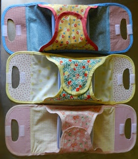 The Sewing Cafe: Japanese bento box carriers. No Link