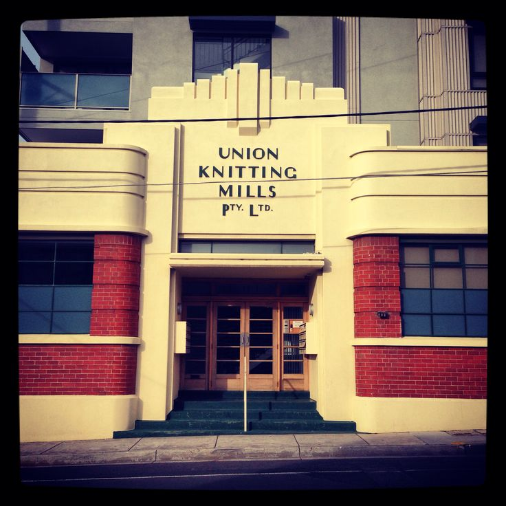 Art Deco Melbourne | Union Knitting Mills in Coburg