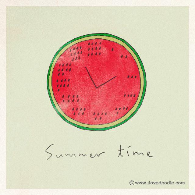 Watermelon - Summer time | von ILoveDoodle