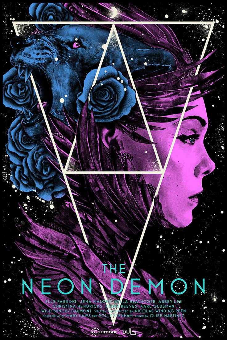 Silkscreen Movie Posters 2016-17 on Behance