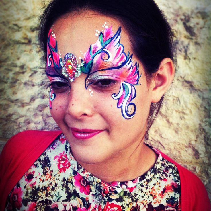 Henna By Leyla Shemesh: 986 Best Images About Face Paint- Fairies & Butterflies