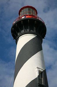 St. Augustine Lighthouse said to have many ghosts' open to the public ◉ re-pinned by http://www.waterfront-properties.com/junobeachrealestate.php