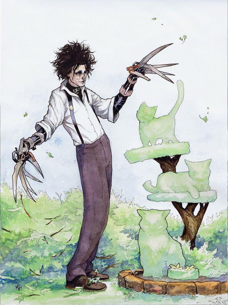 Edward Scissorhands by Meghan Hetrick
