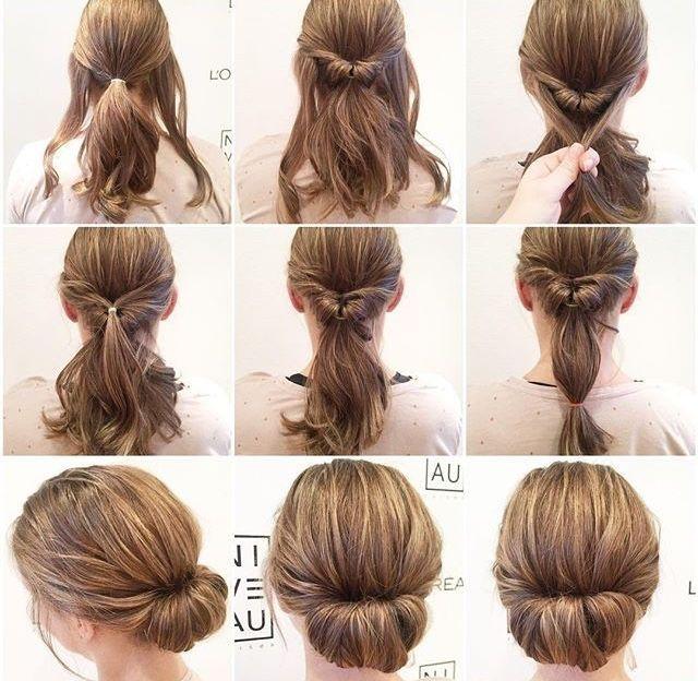 Interview hairstyles – Frisuren-Anleitungen
