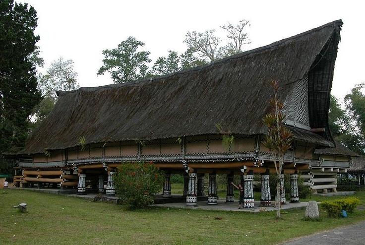 Rumah Bolon Simalungun - Batak traditional house