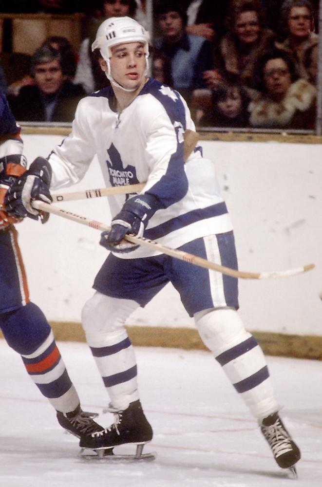 "Dave ""Tiger"" Williams, Toronto Maple Leafs"
