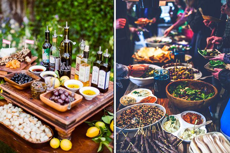 Menu mariage à partager par Feed Traiteur - Lyon-mariahe.com