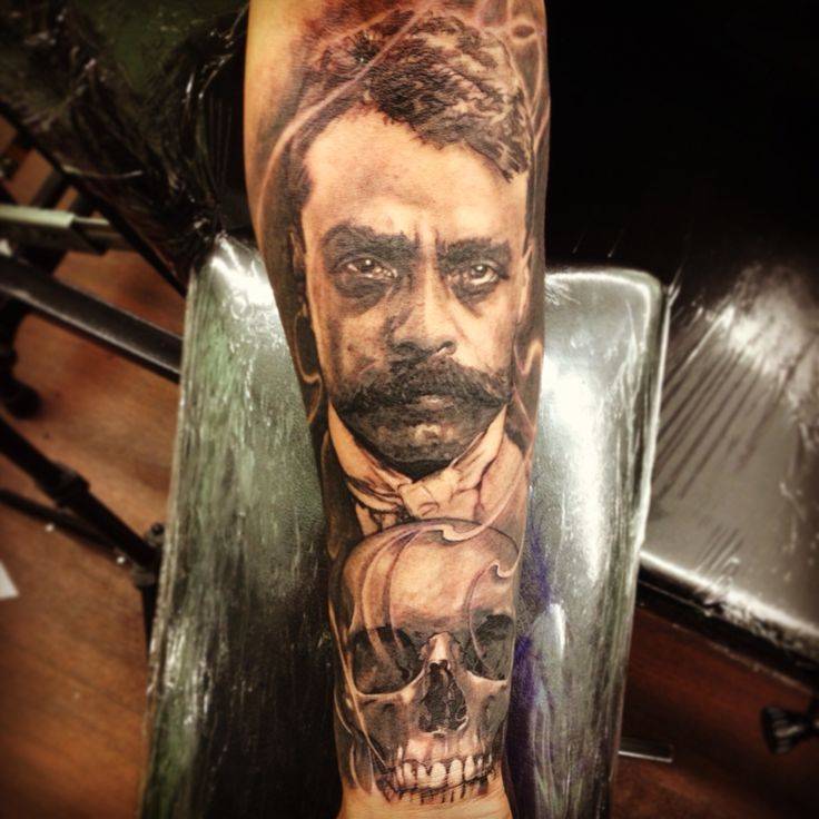 96 best takas images on pinterest tattoo ideas awesome for Emiliano zapata tattoo