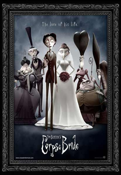 Corpse Bride (2005) - Movie Poster by Tim Burton