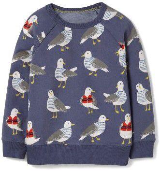 Toddler Boy's Mini Boden Coastal Sweatshirt