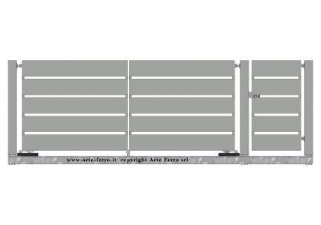 Risultati immagini per cancelli in ferro moderni
