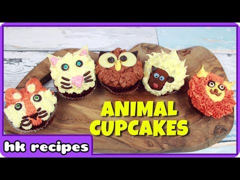 DIY Animal Cupcakes | Easy Cupcake Decorating Techniques & Tips by Cupcake Mania