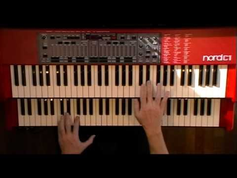 (29) The Cat (Jimmy Smith) - Short slower tempo version - Nord C1 Hammond B-3 Organ Clone Clavia - YouTube