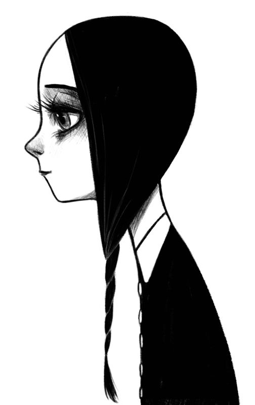 Wednesday Addams by ~courtneygodbey on deviantART