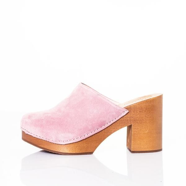 Closed Clog pink