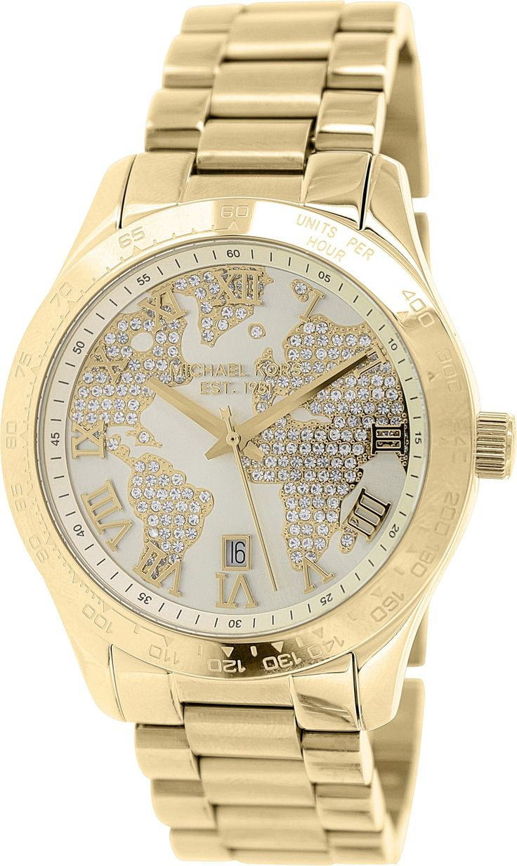michael kors layton watch paveembellished with an engraved map womens watchmk handbags fashion handbags.  best michael kors horloges images on pinterest  michael o