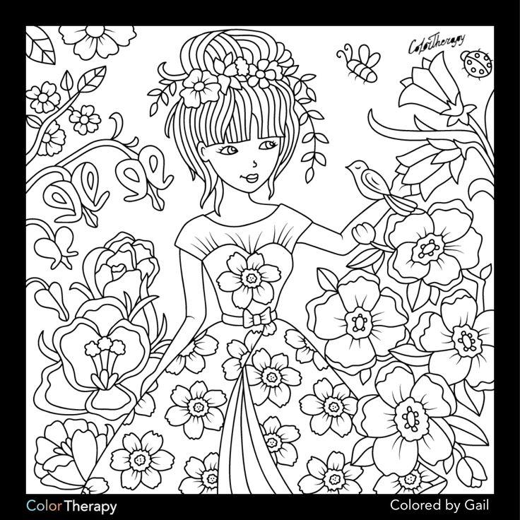 268 besten Color me Bilder auf Pinterest | Malbücher, Malvorlagen ...