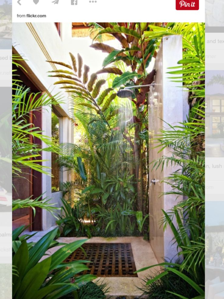 Outdoor Shower Enclosure Ideas Feature Fantastic Garden Shower Designs  Providing An Opportunity To Cool Off On Hot Summer Days Or After Work