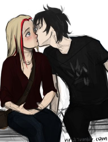 sadie and anubis - the-kane-chronicles Photo oh don't mind me, just kissing a funeral god here
