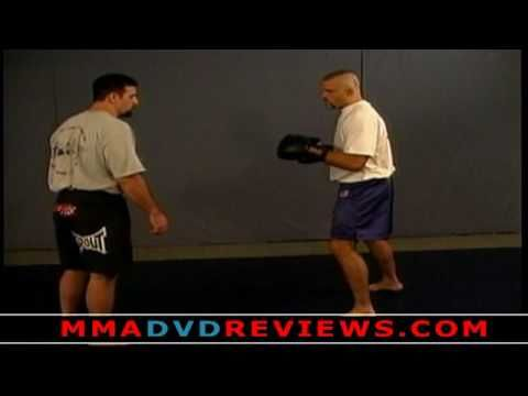 Chuck Liddell - MMA Takedown with Punches Drill