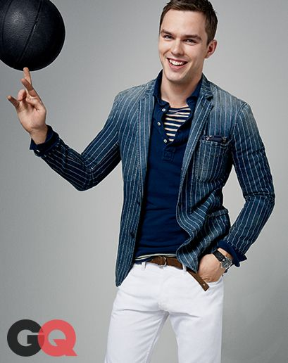 GQ.com: Tee Off at the ClubIf you don't know Nicholas Hoult as the chin-trembling spoonful of sour cream from About a Boy, or missed his soapy interlude on Britain's sexy sex drama Skins, or maybe blinked that one time he was Tom Ford's angora-wearing muse in A Single Man, then you know him as the X-Men guy—or more probably, as He Who Dated Jennifer Lawrence for Four Years, i.e., the intended target of those naked pictures you Googled, ya creep. (He's also the guy who got blamed for those…