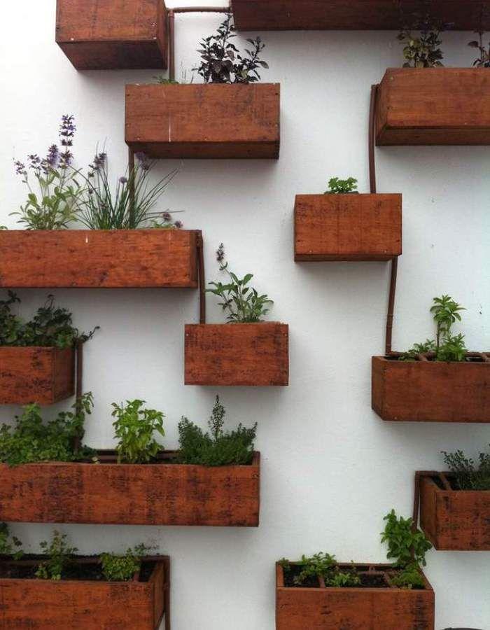 Herb Planter Box Indoor Part - 35: Best 25+ Wall Herb Gardens Ideas On Pinterest | Herb Wall, Indoor Herbs And  Growing Herbs Indoors