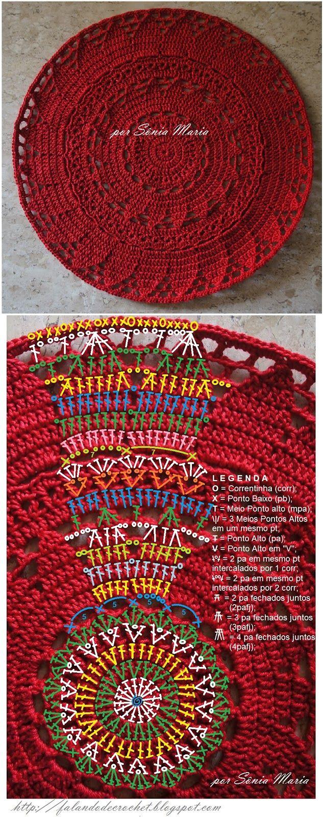Crochet @ table
