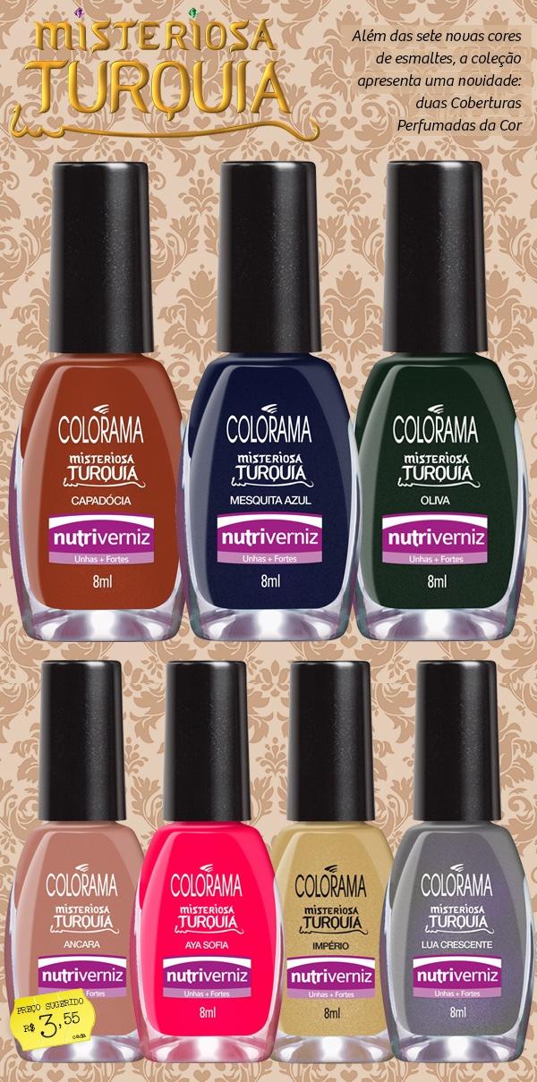 nova coleção Colorama: Mi Amor, Nails, New Collection
