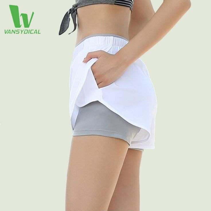 Sport Running Shorts 2 in 1 Women Short Pants for Yoga Basketball Gym Workout Fitness Beach Shorts Compression Shorts