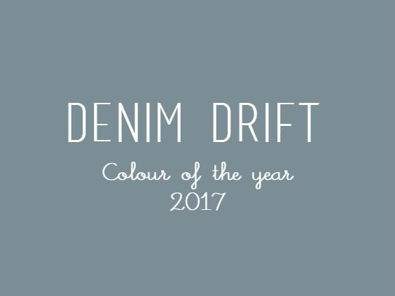 la tazzina blu: Color Futures 2017: Denim Drift
