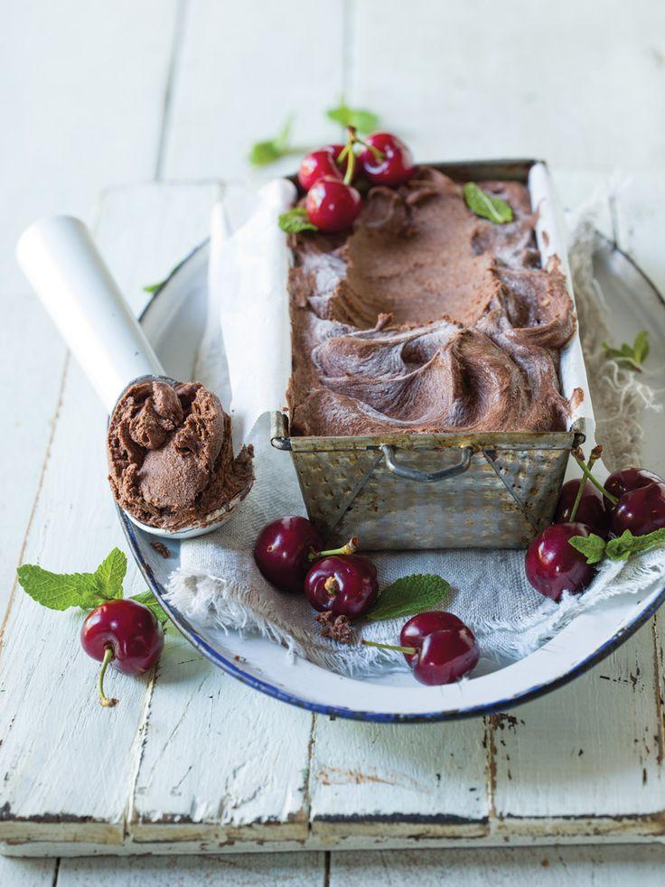 Quick Avo & Chocolate Ice Cream #icecreamforbreakfast #quivertreepublications
