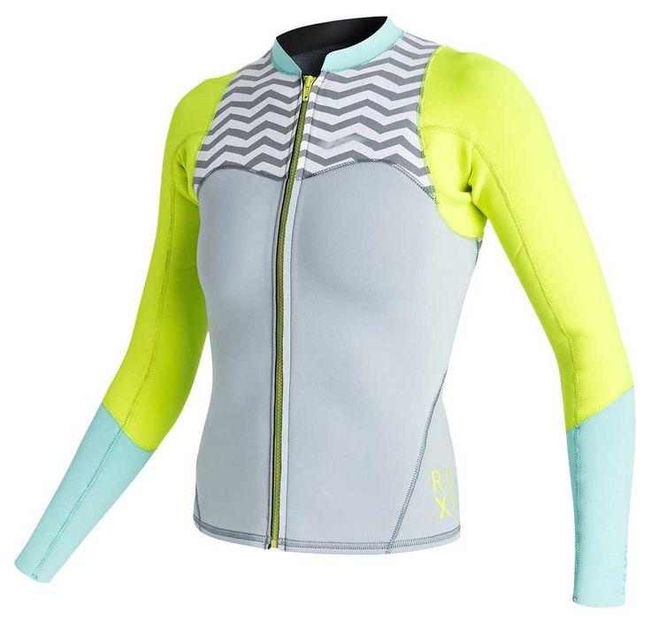 Roxy XY Women's 2mm Front Zip Neoprene JacketThe Roxy XY neoprene jacket is  perfect for those